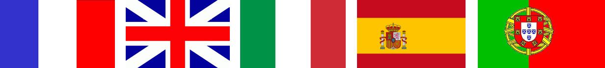 drapeaux horizontaux